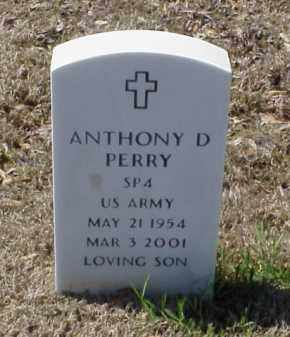 PERRY (VETERAN), ANTHONY D - Pulaski County, Arkansas | ANTHONY D PERRY (VETERAN) - Arkansas Gravestone Photos