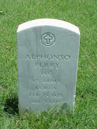 PERRY (VETERAN KOR), ALPHONSO - Pulaski County, Arkansas | ALPHONSO PERRY (VETERAN KOR) - Arkansas Gravestone Photos