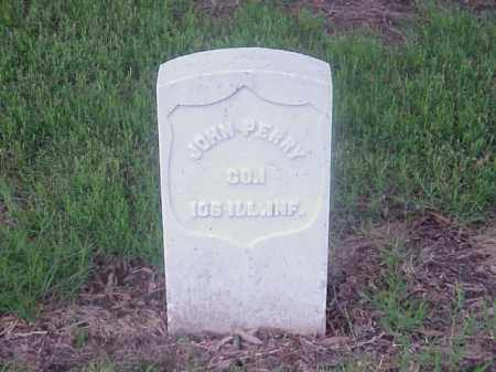 PERRY (VETERAN UNION), JOHN - Pulaski County, Arkansas | JOHN PERRY (VETERAN UNION) - Arkansas Gravestone Photos