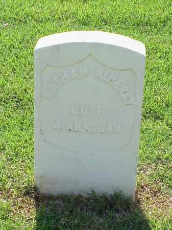 PERRY (VETERAN UNION), NATHAN A - Pulaski County, Arkansas | NATHAN A PERRY (VETERAN UNION) - Arkansas Gravestone Photos