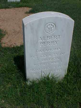 PERRY (VETERAN WWI), ALBERT - Pulaski County, Arkansas | ALBERT PERRY (VETERAN WWI) - Arkansas Gravestone Photos