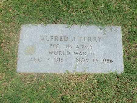 PERRY (VETERAN WWII), ALFRED J - Pulaski County, Arkansas | ALFRED J PERRY (VETERAN WWII) - Arkansas Gravestone Photos