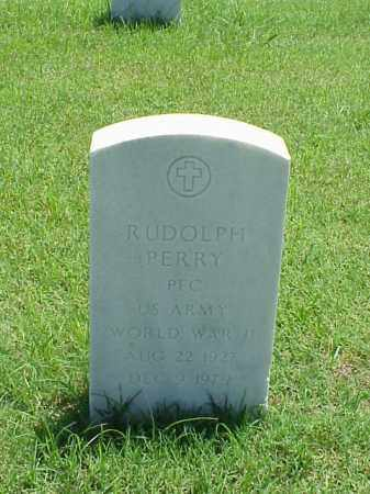PERRY (VETERAN WWII), RUDOLPH - Pulaski County, Arkansas | RUDOLPH PERRY (VETERAN WWII) - Arkansas Gravestone Photos