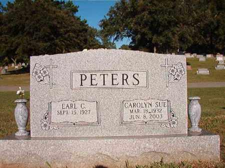 PETERS, CAROLYN SUE - Pulaski County, Arkansas | CAROLYN SUE PETERS - Arkansas Gravestone Photos