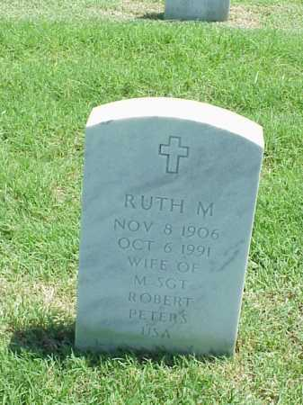 PETERS, RUTH M - Pulaski County, Arkansas | RUTH M PETERS - Arkansas Gravestone Photos