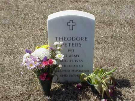 PETERS (VETERAN), THEODORE - Pulaski County, Arkansas | THEODORE PETERS (VETERAN) - Arkansas Gravestone Photos
