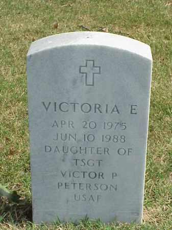 PETERSON, VICTORIA E. - Pulaski County, Arkansas | VICTORIA E. PETERSON - Arkansas Gravestone Photos