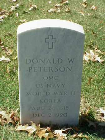 PETERSON (VETERAN 2 WARS), DONALD W - Pulaski County, Arkansas | DONALD W PETERSON (VETERAN 2 WARS) - Arkansas Gravestone Photos