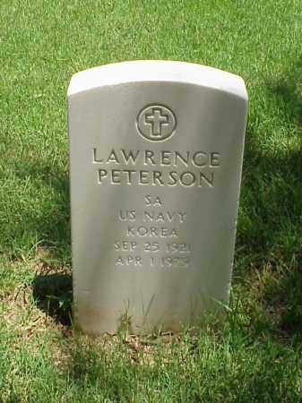 PETERSON (VETERAN KOR), LAWRENCE - Pulaski County, Arkansas | LAWRENCE PETERSON (VETERAN KOR) - Arkansas Gravestone Photos