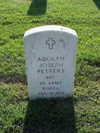 PETTERS (VETERAN KOR), ADOLPH JOSEPH - Pulaski County, Arkansas | ADOLPH JOSEPH PETTERS (VETERAN KOR) - Arkansas Gravestone Photos