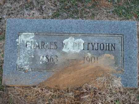 PETTYJOHN, CHARLES W - Pulaski County, Arkansas | CHARLES W PETTYJOHN - Arkansas Gravestone Photos