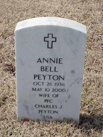 PEYTON, ANNIE BELL - Pulaski County, Arkansas | ANNIE BELL PEYTON - Arkansas Gravestone Photos