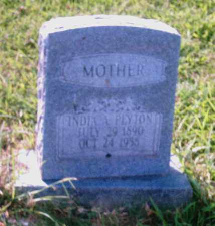 PEYTON, INDIA A. - Pulaski County, Arkansas | INDIA A. PEYTON - Arkansas Gravestone Photos