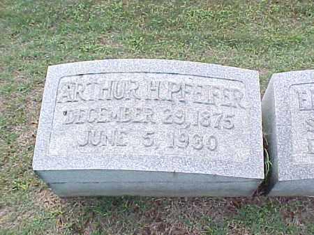 PFEIFER, ARTHUR H - Pulaski County, Arkansas | ARTHUR H PFEIFER - Arkansas Gravestone Photos