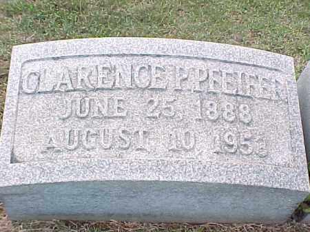 PFEIFER, CLARENCE P - Pulaski County, Arkansas | CLARENCE P PFEIFER - Arkansas Gravestone Photos
