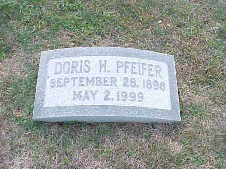PFEIFER, DORIS H - Pulaski County, Arkansas | DORIS H PFEIFER - Arkansas Gravestone Photos