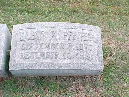 PFEIFER, ELSIE K - Pulaski County, Arkansas | ELSIE K PFEIFER - Arkansas Gravestone Photos
