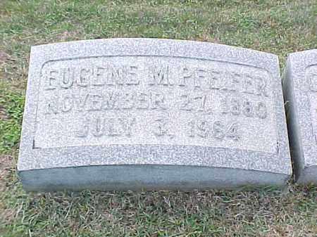 PFEIFER, EUGENE M - Pulaski County, Arkansas | EUGENE M PFEIFER - Arkansas Gravestone Photos