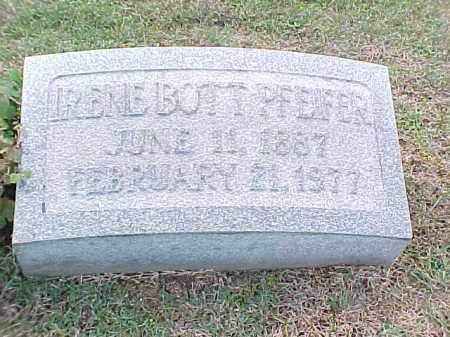 BOTT PFEIFER, IRENE - Pulaski County, Arkansas | IRENE BOTT PFEIFER - Arkansas Gravestone Photos