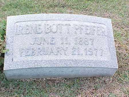 PFEIFER, IRENE - Pulaski County, Arkansas | IRENE PFEIFER - Arkansas Gravestone Photos