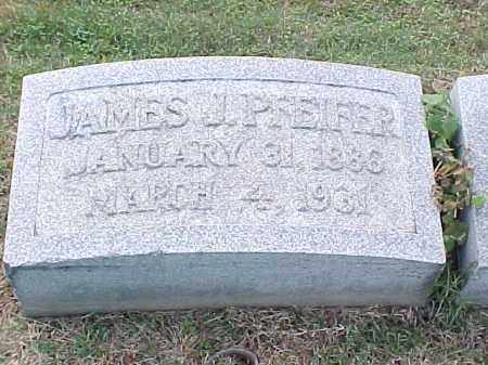 PFEIFER, JAMES J - Pulaski County, Arkansas | JAMES J PFEIFER - Arkansas Gravestone Photos