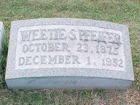PFEIFER, WEETIE S - Pulaski County, Arkansas | WEETIE S PFEIFER - Arkansas Gravestone Photos