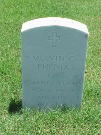 PHENIX (VETERAN WWII), MELVIN C - Pulaski County, Arkansas | MELVIN C PHENIX (VETERAN WWII) - Arkansas Gravestone Photos