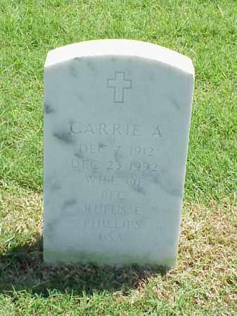 PHILLIPS, CARRIE - Pulaski County, Arkansas | CARRIE PHILLIPS - Arkansas Gravestone Photos