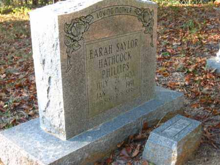 SAYLOR PHILLIPS, EARAH - Pulaski County, Arkansas | EARAH SAYLOR PHILLIPS - Arkansas Gravestone Photos