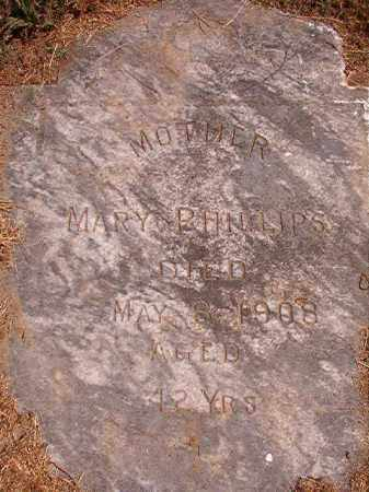PHILLIPS, MARY - Pulaski County, Arkansas | MARY PHILLIPS - Arkansas Gravestone Photos