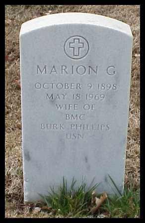 PHILLIPS, MARION G - Pulaski County, Arkansas | MARION G PHILLIPS - Arkansas Gravestone Photos