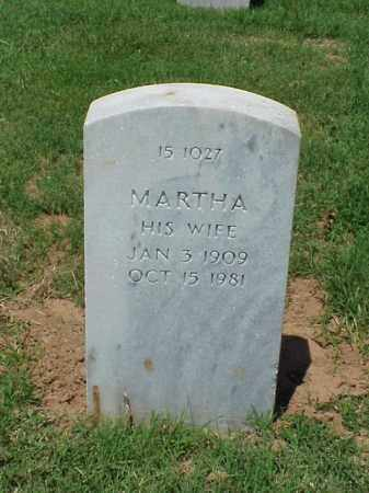 PHILLIPS, MARTHA - Pulaski County, Arkansas | MARTHA PHILLIPS - Arkansas Gravestone Photos