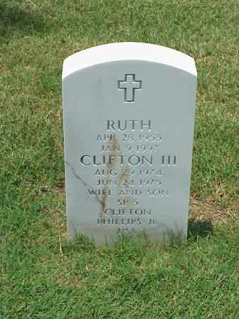PHILLIPS, RUTH - Pulaski County, Arkansas | RUTH PHILLIPS - Arkansas Gravestone Photos