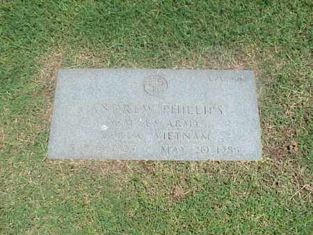 PHILLIPS (VETERAN 2 WARS), ANDREW - Pulaski County, Arkansas | ANDREW PHILLIPS (VETERAN 2 WARS) - Arkansas Gravestone Photos