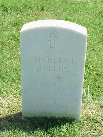 PHILLIPS (VETERAN 2 WARS), CHARLES L - Pulaski County, Arkansas | CHARLES L PHILLIPS (VETERAN 2 WARS) - Arkansas Gravestone Photos