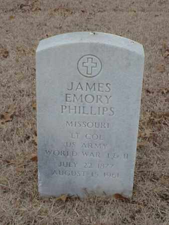 PHILLIPS (VETERAN 2 WARS), JAMES EMORY - Pulaski County, Arkansas | JAMES EMORY PHILLIPS (VETERAN 2 WARS) - Arkansas Gravestone Photos