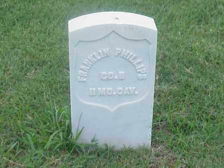 PHILLIPS (VETERAN UNION), FRANKLIN - Pulaski County, Arkansas | FRANKLIN PHILLIPS (VETERAN UNION) - Arkansas Gravestone Photos