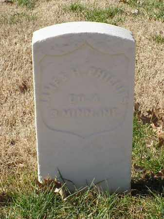PHILLIPS (VETERAN UNION), JAMES H - Pulaski County, Arkansas | JAMES H PHILLIPS (VETERAN UNION) - Arkansas Gravestone Photos