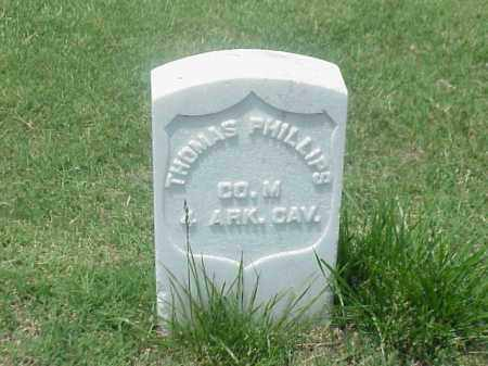 PHILLIPS (VETERAN UNION), THOMAS - Pulaski County, Arkansas | THOMAS PHILLIPS (VETERAN UNION) - Arkansas Gravestone Photos