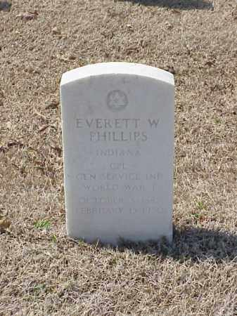 PHILLIPS (VETERAN WWI), EVERETTE W - Pulaski County, Arkansas | EVERETTE W PHILLIPS (VETERAN WWI) - Arkansas Gravestone Photos