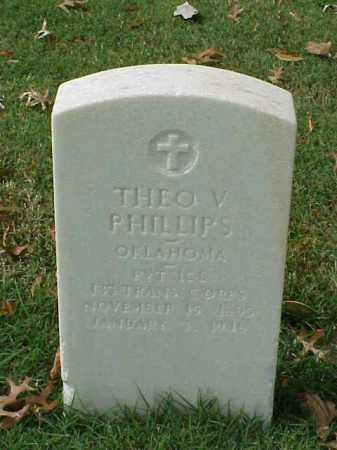 PHILLIPS (VETERAN WWI), THEO V - Pulaski County, Arkansas | THEO V PHILLIPS (VETERAN WWI) - Arkansas Gravestone Photos