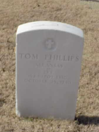 PHILLIPS (VETERAN WWI), TOM - Pulaski County, Arkansas | TOM PHILLIPS (VETERAN WWI) - Arkansas Gravestone Photos