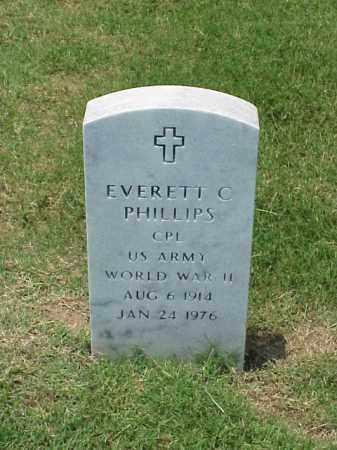 PHILLIPS (VETERAN WWII), EVERETT C - Pulaski County, Arkansas | EVERETT C PHILLIPS (VETERAN WWII) - Arkansas Gravestone Photos
