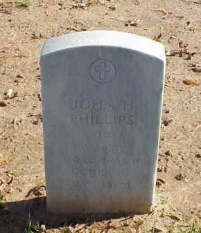 PHILLIPS (VETERAN WWII), JOHN H - Pulaski County, Arkansas | JOHN H PHILLIPS (VETERAN WWII) - Arkansas Gravestone Photos
