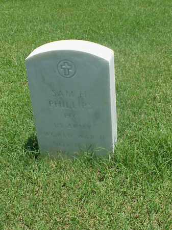 PHILLIPS (VETERAN WWII), SAM H - Pulaski County, Arkansas | SAM H PHILLIPS (VETERAN WWII) - Arkansas Gravestone Photos