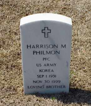 PHILMON (VETERAN KOR), HARRISON M - Pulaski County, Arkansas | HARRISON M PHILMON (VETERAN KOR) - Arkansas Gravestone Photos