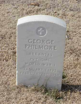 PHILMORE (VETERAN WWI), GEORGE - Pulaski County, Arkansas | GEORGE PHILMORE (VETERAN WWI) - Arkansas Gravestone Photos