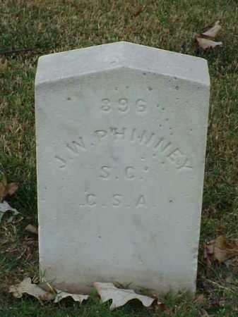 PHINNEY (VETERAN CSA), J W - Pulaski County, Arkansas | J W PHINNEY (VETERAN CSA) - Arkansas Gravestone Photos