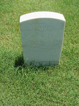PICKENS, SR (VETERAN WWII), CHARLES J - Pulaski County, Arkansas | CHARLES J PICKENS, SR (VETERAN WWII) - Arkansas Gravestone Photos