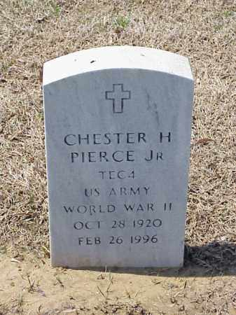 PIERCE, JR (VETERAN WWII), CHESTER H - Pulaski County, Arkansas | CHESTER H PIERCE, JR (VETERAN WWII) - Arkansas Gravestone Photos